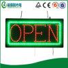 Signe ouvert lumineux élevé de DEL (HSO0054)