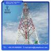 Torre de comunicação de aço galvanizada Monopole do ângulo