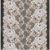Avorio 1.4m Corded Lace Fabric per Cloth