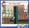 A venda 2015 quente certificou a cerca soldada Curvy revestida PVC do engranzamento de fio de aço
