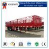 중국 가축 운반대, 판매를 위한 반 담 화물 트레일러