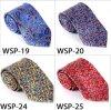 Relation étroite imprimée par /Polyester à la mode Wsp-19 de soie de 100%