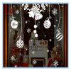 Natale piccolo autoadesivo e decalcomania decorativi della parete del fiocco di neve e della Bell