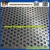 Steel con poco carbono Perforated Metal Mesh para Waste Processing