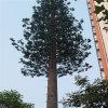 Torretta galvanizzata calda dell'acciaio di telecomunicazione dell'albero di pino di travestimento