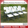 Alta calidad White Folding Plastic Chairs con Metal Legs Br-P100