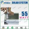 잡아당기기 막대와 바퀴 (PETC-FD-55W)를 가진 55W 휴대용 태양 에너지 체계