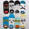 Cotton Ankle Happy Socks der Männer mit Cartoon Face (MA205)