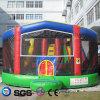 Замок LG9073 дома хвастуна игрушек малышей конструкции воды кокосов раздувной