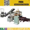 Sambia-Straßenbetoniermaschine-Block der Qualitätssicherungs-Qt4-18 automatischer, der Maschine für Verkauf in Afrika herstellt