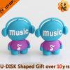 Coutume USB Pendrive (YT-6433-06) de PVC de cadeaux de promotion