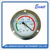 Calibro di Monometer- di Misurare-Vuoto di pressione del supporto del comitato con la flangia anteriore