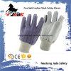 Le gant industriel de travail de sûreté de main le meilleur marché de cuir fendu de peau de vache