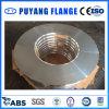 El anillo de la placa del aluminio 6061 forjó el borde