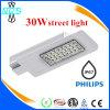 Iluminação ao ar livre 30-150W Meanwell Drvier e lâmpada de rua do diodo emissor de luz da microplaqueta da Philips