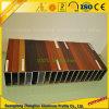 Customzied PVDF/Heat brengt het Houten Profiel van het Aluminium van de Korrel voor Decoratie over