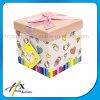 Подгонянная коробка цветастого подарка детей присытствыющего бумажная упаковывая