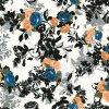 100%純粋で自然な絹のデジタルの印刷の絹ファブリック(SZ-0034)