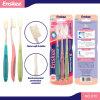 Erwachsene Zahnbürste mit Nano Borsten  3 in 1 Wirtschaft-Satz 910