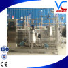 Pasteurisatieapparaat van de Melk van UHT van het Type van roestvrij staal het Tubulaire