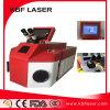 Petite machine portative de soudure laser De fibre pour le bijou de boucle
