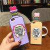 iPhoneのための愛毒びんのシリコーンの電話箱6 7