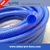 2017 Manguera de agua de PVC flexible de plástico azul del jardín