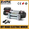 4WD 4X4 del torno eléctrico del cabrestante del camino 15000lbs con la cuerda de alambre
