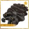onda india 100% de la carrocería del pelo del pelo humano de la Virgen del grado 7A