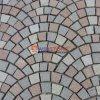 De ventilator Gevormde Straatsteen van de Tegels van de Vloer van het Mozaïek