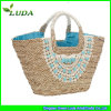 Spain Style Sea Grass Straw Tote Bag in Summer