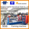 Full-Automatic Kabel-Tellersegment-Rolle, die Maschine mit hydraulischem Decoiler bildet