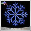 Lumière neuve de décoration de Noël des flocons de neige DEL du motif 60cm de vacances 2D