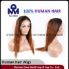 Hair umano Wig Full Lace Wig con Two Color