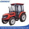 Tractor económico de cuatro ruedas con el Pilothouse Sh554