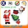 Weihnachtsgeschenk-reizendes Karikatur USB-Speicher-Steuerknüppel-Feder-Laufwerk