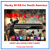 Nusky N1g ISDB-T+S2 Nagra3 Decoder Iks Free для Южной Америки