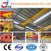 Running superior Single Girder Overhead Crane para a pista de decolagem Workshop de Low