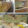 Мраморный Slab Green Honey Onyx для Marble Wall Cladding Tile