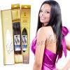 Prolongation orientale de cheveux humains de la catégorie 6A Remy avec l'empaquetage luxueux
