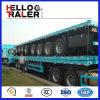 Saleのための3つの車軸12 Wheels Flatbed Transport Trailer