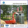 Type vertical presse hydraulique pour le foin de paille