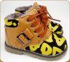 Новые дешевые плоские ботинки детей с печатью звезд
