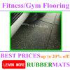 500 * 500 * 25 mm más populares de Ventas Gimnasio Rubber Flooring