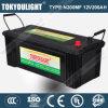 N200mf 12V200ahのJIS Standard Maintenance Free Truck Battery