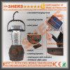 Una lanterna di campeggio autoalimentata solare portatile dei 36 LED