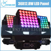 disco Lighting de 36X12.8W RGBW LED Stage