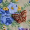 Accessori romantici del pattino del Rhinestone di figura della farfalla con le clip