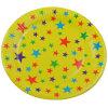 Placa de papel del partido de la impresión de la estrella