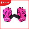 Перчатки гимнастики перчаток половинного перста перчаток поднятия тяжестей напольного спорта задействуя Breathable
